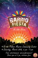 Barrio Fiesta Poster by kev2137
