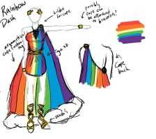 AB12: Rainbow Dash Cosplay Sketch --REVAMP-- by AShadowofTruth