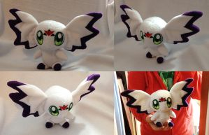 Digimon - Calumon custom plush by Kitamon