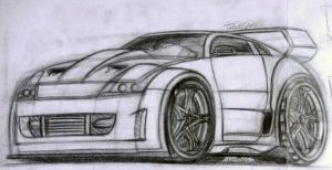 Nissan 350 Z Toon by theTobs