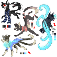Shadow adopts CLOSED by LionMushrooms