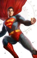Superman: White Series Alternate by pinkhavok