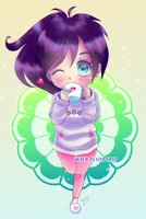 Commission - Soft chibi Steffe (8/10) by Wild-Fluff