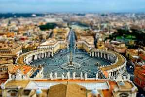 tilt shift - Vatican by zpecter