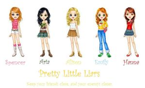 Pretty Little Liars Cartoons by SpencerHastings