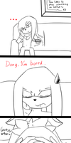 A small Mothersday Comic .:P1:. by ArrowTheHedgehog1