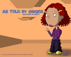 As told by Ginger Wallpaper2 by MADt2