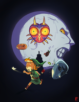 Zelda Majora's Mask Tribute by Senior-X
