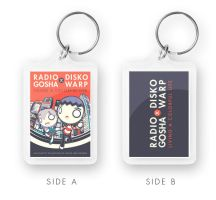 Radio Gosha x Disko Warp DVD/CD exclusive keychain by GoshaDole