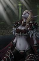 World of Warcraft - Lady Sylvanas Windrunner by SaintPrecious