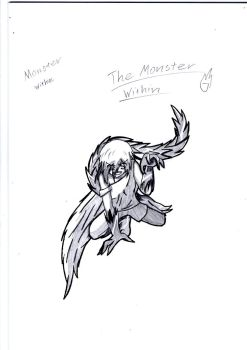 The Monster Within - Sketch by Iru23