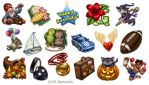 Gifting Icons 5 for Hi5 by feliciacano