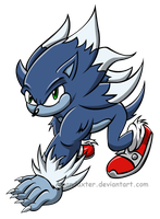 Sonic the werehog 2013 by Amandaxter