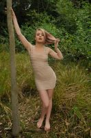 Hana - beige dress 1 by wildplaces
