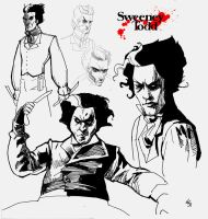 sweeney todd by absinthe-girl