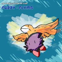 FUZZY+Flying by CentralCityTower