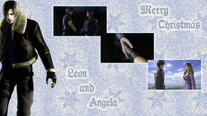 Leon and Angela (4) by AuraIan