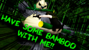 HAVE SOME BAMBOO WITH ME!! by MadNimrod