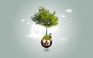 Two Worlds by imrik
