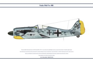 Fw190A4 JG2 6 by WS-Clave