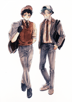 fashionable school boys by b-snippet