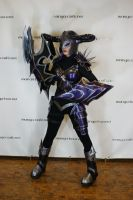 Darkflame Shyvana Cosplay by SnowscarredLady