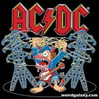 AC-DC T-shirt Design 2 by RossRadiation