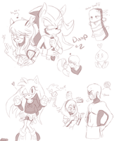 ::Shadamy:: - Sketch Dump #2 by Siinnack