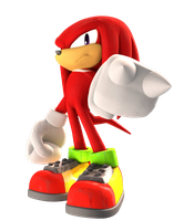 Knuckles The Echidna by FinnAkira