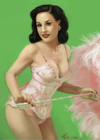 Dita in Pink by mollygrue