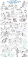 SKETCH-DUMP Fall 2012 (Part 1) by killigann