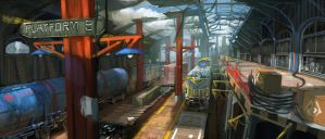 Train station2 by zhangc