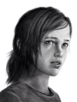 Ellie The Last of Us by W4RNEVERCHANGES