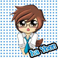 colored Ha Yoon!!!!!! by devilrofe
