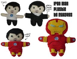 Iron Man Plushie by EGH2493