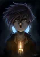 Mathias - Candle by Dunklayth
