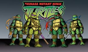 TMNT colors by BDixonarts