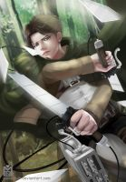 Shingeki: Levi by Monsohot