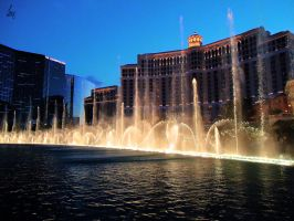 bellagio fountains by Unique-Shadow