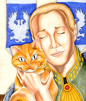 Anders and Pounce by SignCherie