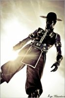 Kung Lao Cosplay - Shining and Winning Lucca 2012 by LeonChiroCosplayArt