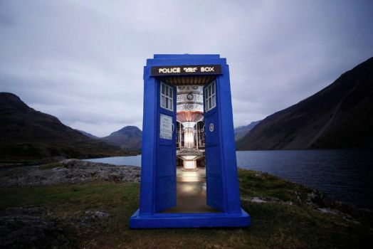Through the doors of the Tardis - Wast Water by SamLRolls