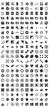 Gray Icons by Mechanismatic