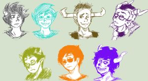 HOMESTUCK by OpticBlast00