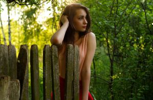 ZGF's photoshoot at sunset: Martyna by panna-poziomka