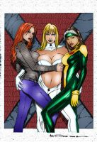 Marvel Girls... by FlamingJeannie