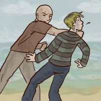 Locke and Charlie by RevisionOfLines