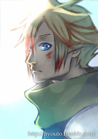 Cloud Strife by hyouto
