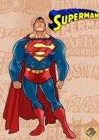 The Man Of Steel by BongzBerry