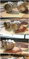 Steampunk Goggles I by GPhoenix